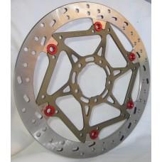 BrakeTech Axis 330 x 6.5mm Superbike Rotors Kit - Ducati V4 Panigale, 1199, 1299, 1098, 1198